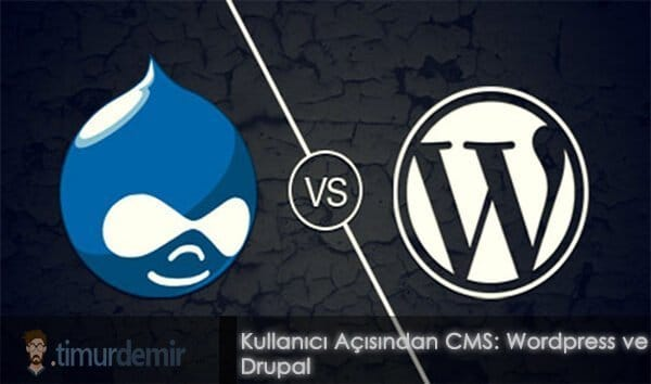 wordpress ve drupal