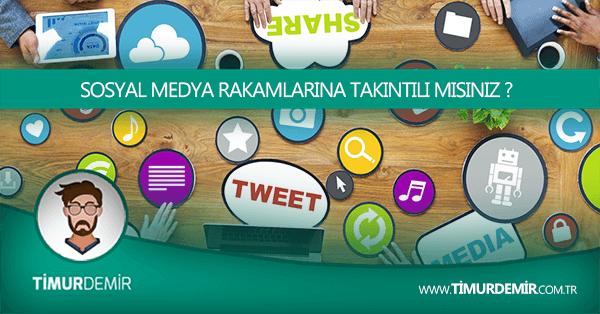 sosyal medya rakamları