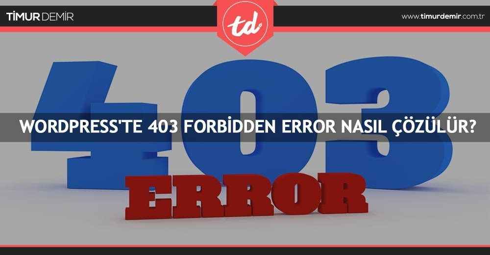 403-forbidden-error-hatasi